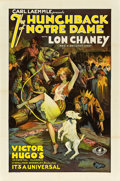 "Movie Posters:Horror, The Hunchback of Notre Dame (Universal, R-1929). One Sheet (27"" X41"").. ..."