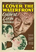 "Movie Posters:Drama, I Cover the Waterfront (United Artists, 1933). One Sheet (27"" X41"").. ..."