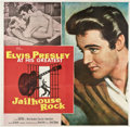 "Movie Posters:Elvis Presley, Jailhouse Rock (MGM, 1957). Six Sheet (81"" X 81"").. ..."