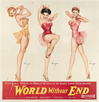 "World Without End (Allied Artists, 1956). Six Sheet (81"" X 81"") Style B"