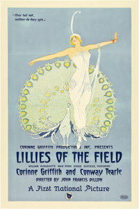 """Lillies of the Field (First National, 1924). One Sheet (27"""" X 41"""")"""