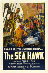 "The Sea Hawk (First National, 1924). One Sheet (27"" X 41"")"