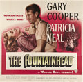 "Movie Posters:Drama, The Fountainhead (Warner Brothers, 1949). Six Sheet (81"" X 81"")....."