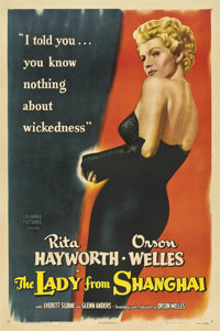 """The Lady From Shanghai (Columbia, 1947). One Sheet (27"""" X 41"""")"""