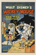 """Movie Posters:Animated, The Mad Doctor (United Artists, 1933). One Sheet (27"""" X 41"""").. ..."""
