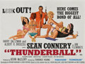 "Movie Posters:James Bond, Thunderball (United Artists, 1965). British Quad (30"" X 40"").. ..."