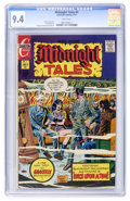 Bronze Age (1970-1979):Horror, Midnight Tales #4 (Charlton, 1973) CGC NM 9.4 White pages....
