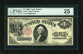 Large Size:Legal Tender Notes, Fr. 35 $1 1880 Legal Tender PMG Very Fine 25....