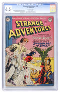 Golden Age (1938-1955):Science Fiction, Strange Adventures #20 (DC, 1952) CGC FN+ 6.5 Off-white pages....