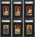 Baseball Cards:Lots, 1914 T213-Type 2 Coupon Cigarettes Collection (17) Including FiveHoFers!...