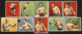 """Boxing Cards:General, 1910 C52 """"Champion Athlete and Prize Fighter"""" Series Group of(12)...."""