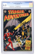Golden Age (1938-1955):Science Fiction, Strange Adventures #18 (DC, 1952) CGC FN 6.0 Cream to off-whitepages....