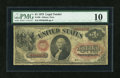 Large Size:Legal Tender Notes, Fr. 20 $1 1875 Legal Tender PMG Very Good 10....