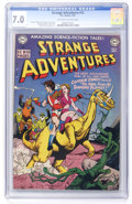 Golden Age (1938-1955):Science Fiction, Strange Adventures #12 (DC, 1951) CGC FN/VF 7.0 Off-white to whitepages....