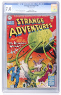 Golden Age (1938-1955):Science Fiction, Strange Adventures #6 (DC, 1951) CGC FN/VF 7.0 White pages....