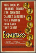 "Movie Posters:Adventure, Spartacus (Universal International, 1960). Argentinean Poster (29""X 43""). Adventure.. ..."