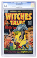 Golden Age (1938-1955):Horror, Witches Tales #13 File Copy (Harvey, 1952) CGC FN+ 6.5 Tan tooff-white pages....