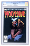 Modern Age (1980-Present):Superhero, Wolverine #3 (Marvel, 1982) CGC NM/MT 9.8 White pages....