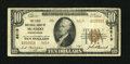 National Bank Notes:Pennsylvania, McAdoo, PA - $10 1929 Ty. 2 The First NB Ch. # 8619. ...