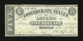 Confederate Notes:1861 Issues, T12 $5 1861.. ...