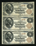 National Bank Notes:Colorado, Salida, CO - $5 1882 Brown Back Fr. 471 The First NB Ch. # 4172....