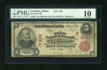 National Bank Notes:Maine, Lewiston, ME - $5 1902 Red Seal Fr. 587 The First NB Ch. # (N)330....