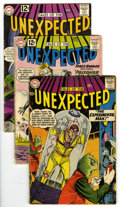 Silver Age (1956-1969):Horror, Tales of the Unexpected Group (DC, 1959-68) Condition: AverageVG-.... (Total: 10 Comic Books)