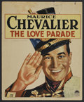 """Movie Posters:Comedy, The Love Parade (Paramount, 1929). Window Card (14"""" X 17""""). MusicalComedy. Starring Maurice Chevalier, Jeanette MacDonald, ..."""