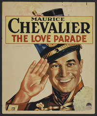 """The Love Parade (Paramount, 1929). Window Card (14"""" X 17""""). Musical Comedy. Starring Maurice Chevalier, Jeanet..."""