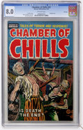 Golden Age (1938-1955):Horror, Chamber of Chills #22 File Copy (Harvey, 1954) CGC VF 8.0 Off-whitepages....