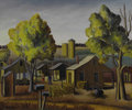 Paintings, Florence Elliot White McClung (American, 1894-1992). . Morning Mail . Circa 1941. Oil on canvas. Signed at lower lef...