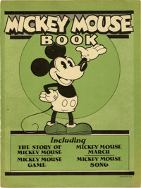 Mickey Mouse Book Later Printing (Bibo & Lang, 1931) Condition: VG
