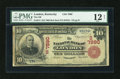 National Bank Notes:Kentucky, London, KY - $10 1902 Red Seal Fr. 613 The NB of London Ch. #(S)7890. ...