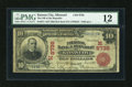 National Bank Notes:Missouri, Kansas City, MO - $10 1902 Red Seal Fr. 615 The NB of the RepublicCh. # (M)8738. ...