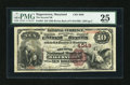 National Bank Notes:Maryland, Hagerstown, MD - $10 1882 Brown Back Fr. 484 The Second NB Ch. #4049. ...