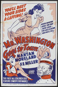 """Movie Posters:Black Films, Mr. Washington Goes to Town (Toddy, R-1940s). One Sheet (27"""" X41""""). Black Films.. ..."""