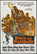 """Movie Posters:War, The Dirty Dozen (MGM, 1967). Argentinean Poster (29"""" X 43""""). War....."""