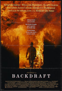 "Backdraft (Universal, 1991). One Sheet (27"" X 40"") SS. Action"