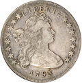 Early Dollars, 1795 $1 Draped Bust, Off Center VF30 NGC....