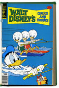 Bronze Age (1970-1979):Cartoon Character, Walt Disney's Comics and Stories #457-468 Bound Volume (Gold Key,1978-79)....