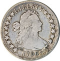 Early Half Dollars, 1796 50C 16 Stars--Plugged--ANACS. VG10 Details....