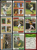 Baseball Cards:Sets, 1974 Topps Near Master Set (732/739) Including Traded Set, Team Checklists and Variations. ...