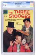 Silver Age (1956-1969):Humor, Four Color #1043 The Three Stooges (Dell, 1959) CGC NM 9.4 Off-white pages....