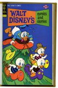 Bronze Age (1970-1979):Cartoon Character, Walt Disney's Comics and Stories #421-432 Bound Volume (Gold Key,1975-76)....