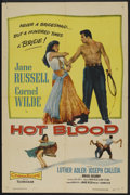 "Movie Posters:Drama, Hot Blood (Columbia, 1956). One Sheet (27"" X 41""). Drama.. ..."