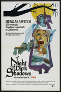 "Movie Posters:Horror, Night of Dark Shadows (MGM, 1971). One Sheet (27"" X 41""). Horror.. ..."