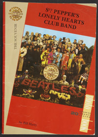 """Sgt. Pepper's Lonely Hearts Club Band (Universal, 1978). Program (Multiple Pages, 11.5"""" X 16.5""""). Rock and Rol..."""