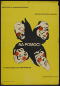 "Movie Posters:Rock and Roll, Help! (United Artists, 1967). Polish One Sheet (23"" X 32.25""). Rockand Roll.. ..."