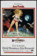 "Movie Posters:Science Fiction, Barbarella (Paramount, 1968). One Sheet (27"" X 41"") Style AFlat-Folded. Science Fiction.. ..."