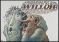 "Movie Posters:Fantasy, Willow (MGM, 1988). Polish One Sheet (26"" X 37""). Fantasy.. ..."